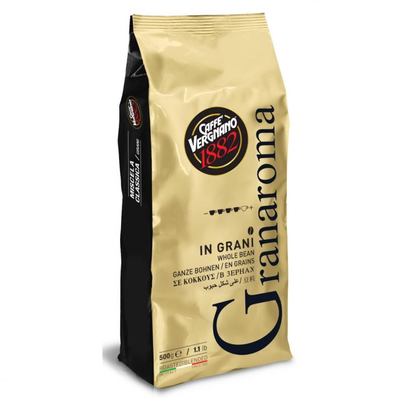 Кофе в зернах Vergnano Gran Aroma 500 г