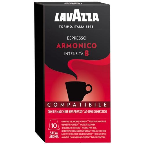 Кофе молотый в капсулах Lavazza Espresso Armonico 10 шт
