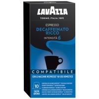 Кофе молотый взернах Lavazza Espresso Decaffeinato Ricco 10шт