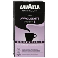 Кофе молотый взернах Lavazza Lungo Avvolgente 10шт