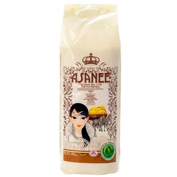 Рис тайский жасминовый Asanee 1 кг
