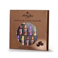 Ассорти шоколадных конфет с алкогольной начинкой со вкусом кофейного ликера Антон Берг 235 грамм