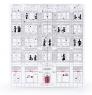 Подарочный набор чая Newby Новогодний Адвент-Календарь белый