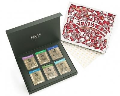 Newby подарочный набор пакетированного чая Праздничный