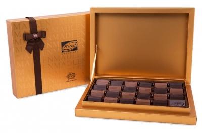 Шоколад Bind Мадлен-Браун плиточки из молочного и темного шоколада 370 г