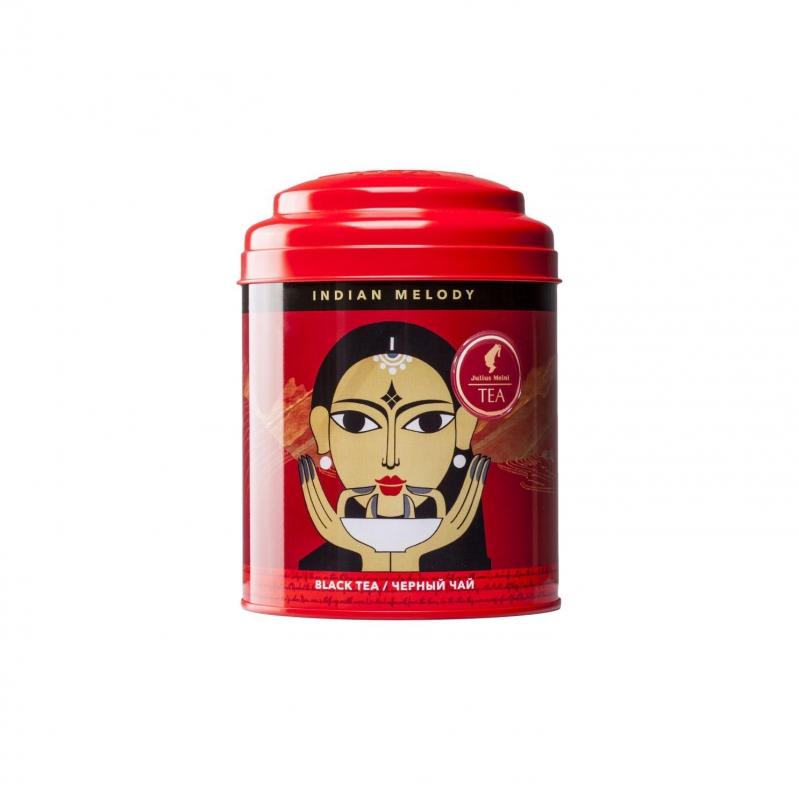 Julius Meinl Индийская Мелодия легкий черный чай в жестяной банке 100 гр