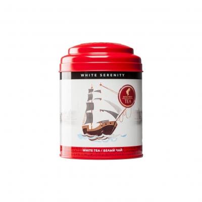Julius Meinl Безмятежность белый чай с серебряными типсами в жестяной банке 50 гр