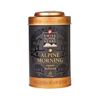 Травяной чай в пакетиках Swiss Alpine Herbs Свежесть Альпийского утра 10шт х по 1 г