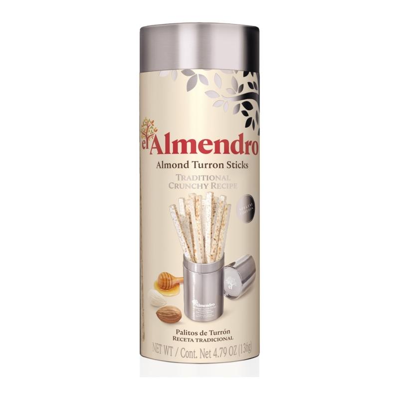 Туррон EL ALMENDRO палочки хрустящие миндальные 50 г