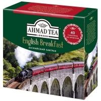 Чай Ахмад Английский завтрак черный в пакетиках 40 штук