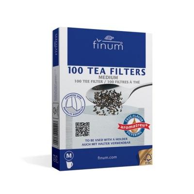 Фильтры для чая Gutenberg отбеленные M 100 шт
