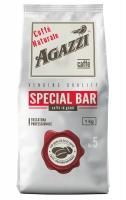 Кофе Agazzi Special Bar жареный взернах, темная обжарка 1кг
