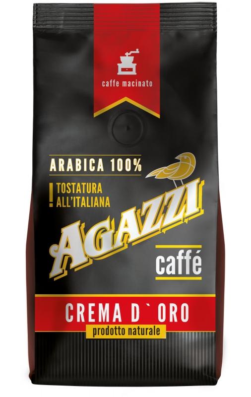 Кофе Agazzi Crema D` Oro молотый, тонкий помол 200 г