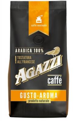 Кофе Agazzi Gusto Aroma молотый, универсальный помол 200 г