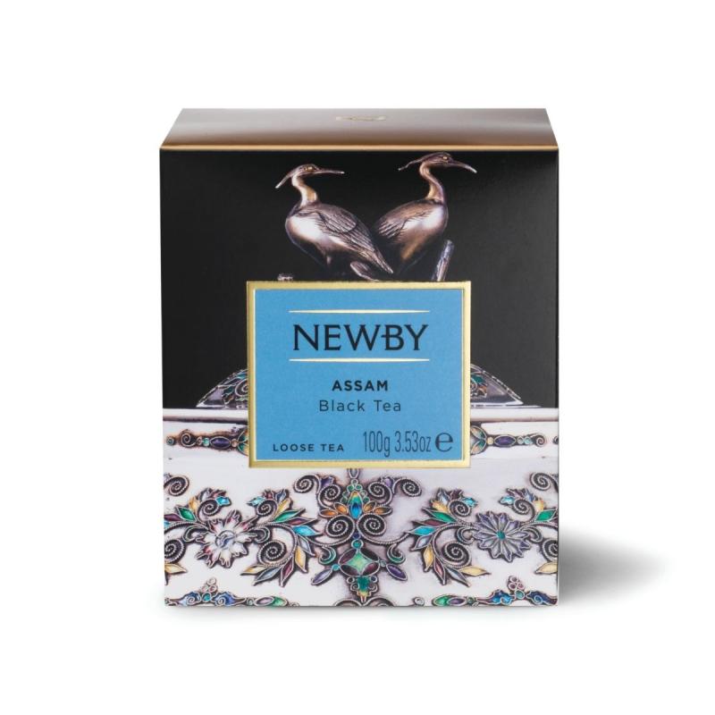 Чай Newby Ассам черный листовой 100 гр