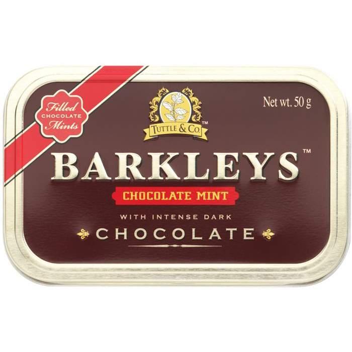 ЛеденцыBARKLEYS CHOCOLATE Мята 50 грамм