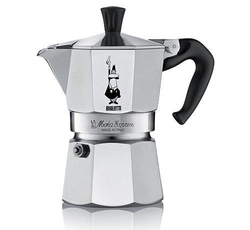 Гейзерная кофеварка Bialetti Moka Express на 1 чашку