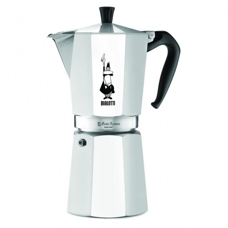 Гейзерная кофеварка Bialetti Moka Express на 12 чашек