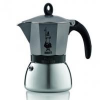 Гейзерная кофеварка Bialetti Moka Induzione антрацит на 6 чашек
