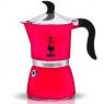 Гейзерная кофеварка Bialetti Fiametta скарлет на 3 чашки