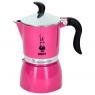 Гейзерная кофеварка Bialetti Fiametta бледно пурпурный на 3 чашки