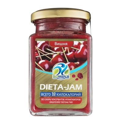 Джем Biomeals низкокалорийный Dieta-Jam Вишня 230 г