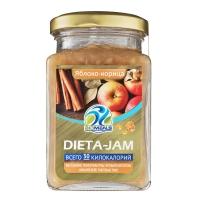 Джем Biomeals низкокалорийный Dieta-Jam Яблоко-корица 230 г