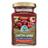Джем Biomeals низкокалорийный Dieta-Jam Клюква 230 г