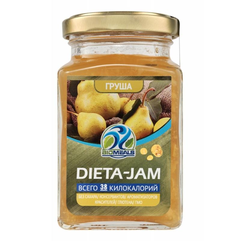 Джем Biomeals низкокалорийный Dieta-Jam Груша 230 г