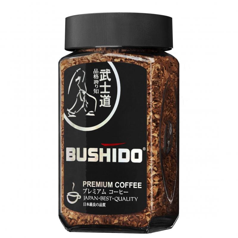 Растворимый кофе Bushido Black Katana 50 гр
