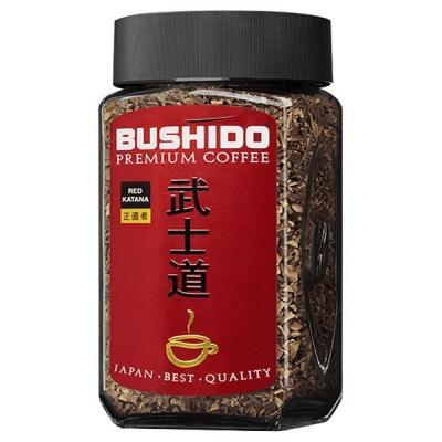 Растворимый кофе Bushido Red Katana 100 гр