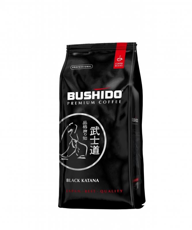 Кофе зерновой Bushido Black Katana 1 кг