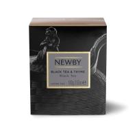 Чай Newby Черный Чай С Чабрецом черный листовой 100гр