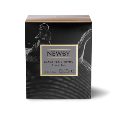 Чай Newby Черный Чай С Чабрецом черный листовой 100 гр
