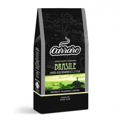 Кофе Carraro Brasile Arabica 100% молотый 250 г