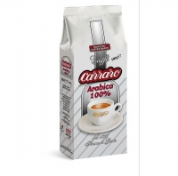 Кофе Carraro Arabica 100% зерновой 500 г