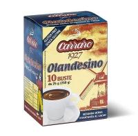 Горячий шоколад Carraro Olandesino 10 пакетиков по 25 г