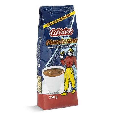 Горячий шоколад Carraro Olandesino в вакуумной упаковке 250 г