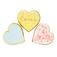 Имбирный пряник Cookie Craft Весеннее сердце 100 гр
