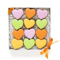 Набор имбирных пряников Cookie Craft Пестрые валентинки 150 гр