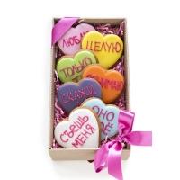 Набор имбирных пряников Cookie Craft Любовная радуга 370 гр