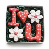 Набор имбирных пряников Cookie Craft I love you 160 гр
