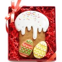 Набор имбирных пряников Cookie Craft Пасхальный кулич 130 гр