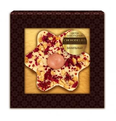 Шоколадное изделие ванильный цветок 35 г