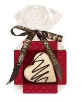 Шоколад белый cердце ванильное 30 г