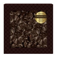 Шоколад неровный темный сгрецким орехом 80 г