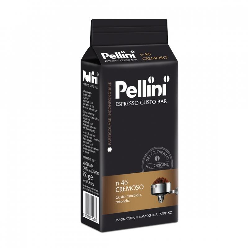 Кофе молотый Pellini Espresso Cremoso №46 250 г