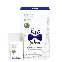 Чай Palais des Thes чёрный париж для него в муслиновых пакетиках 20шт