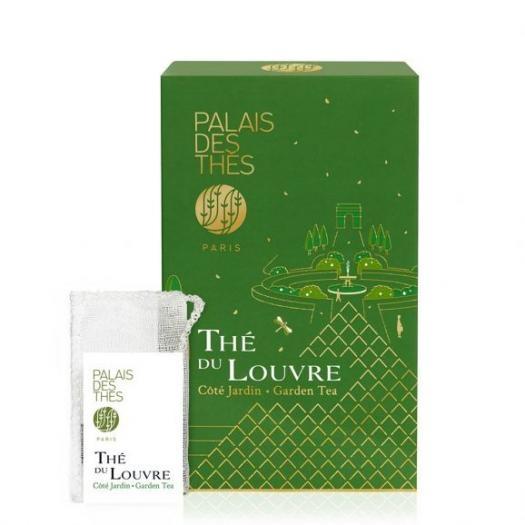 Чай Palais des Thes Зеленый Чай Лувра Утренний сад в муслиновых пакетиках 20 шт по 2 г