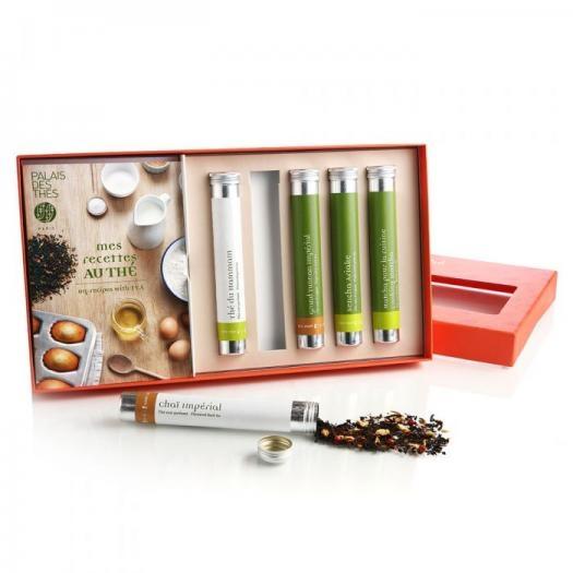 Чайный набор Palais des Thes черного и зеленого чая Готовим с чаем 100 г
